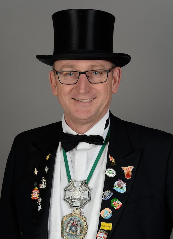 2. Vorsitzender: Heino Fahnenbruck